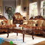 Set Sofa Tamu Klasik Ukir Traditional Mewah Kaldore