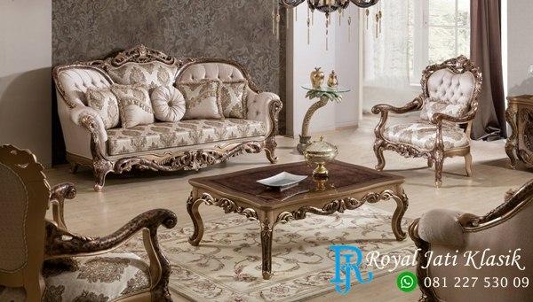 Set Sofa Tamu Klasik Victorian Ganesha Torres