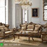 Set Sofa Tamu Klasik Victorian Mewah Himenes