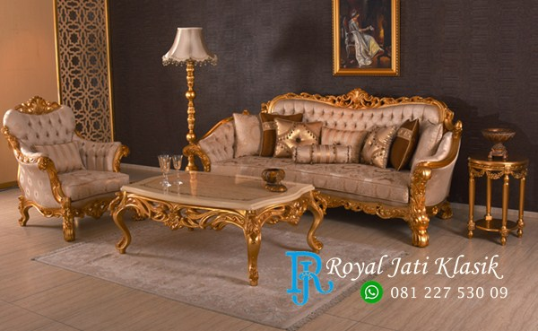 Set Sofa Tamu Koltuk Royal Takimi Classic
