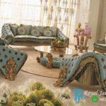 Set Sofa Tamu Mewah Antik Unik Royal Klasik