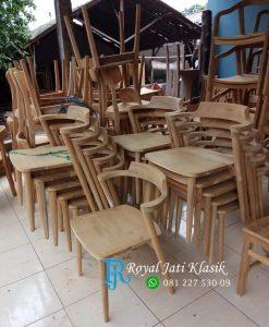 Aneka Kursi Cafe Minimalis Jati Solid