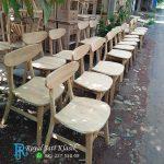 Kursi Cafe Kipas Kayu Jati Solid