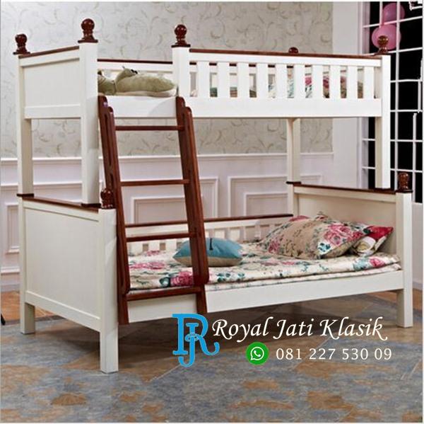 Tempat Tidur Tingkat Duco Natural Royal