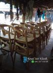Kursi Cafe Lengkung Jati Solid