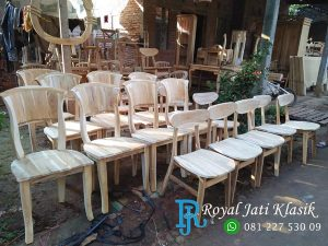 Kursi Cafe Model Kipas Ready Mentahan